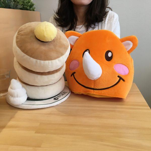 ツノっちとパンケーキ
