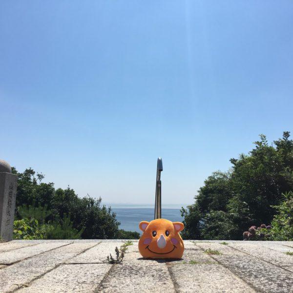 海の見える高台in知多半島