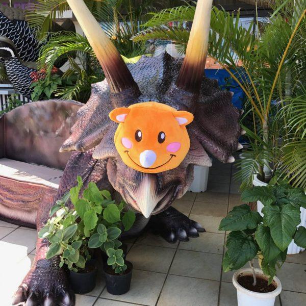ツノッチと恐竜②