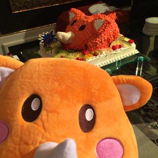 【ツノっちケーキ♡】