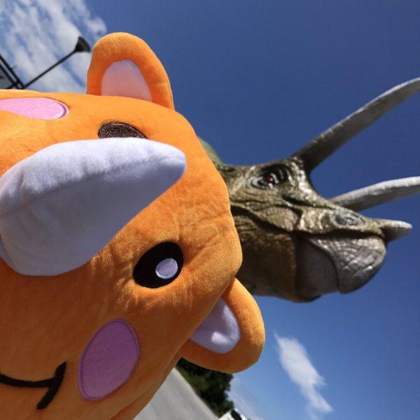 ツノッチと恐竜①