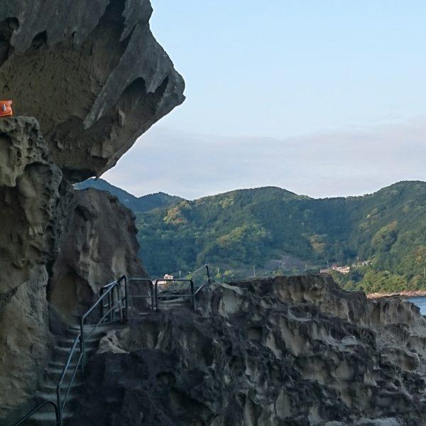 ツノっちはど~こだ?in熊野は鬼ヶ城。