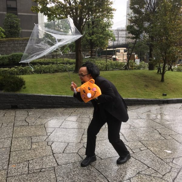 台風から守るっち